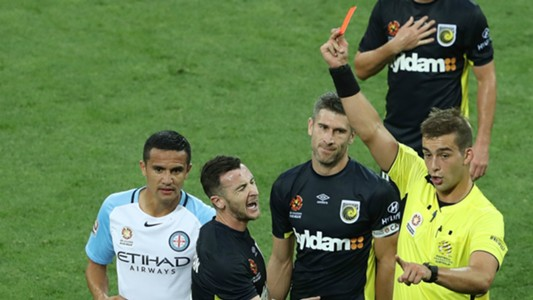 Roy O'Donovan Melbourne City v Central Coast Mariners A-League 19012017