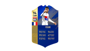 FIFA 18 Ligue 1 Team of the Season Fekir