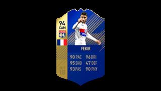 FIFA 18 Ligue 1 Team of the Season Fekir