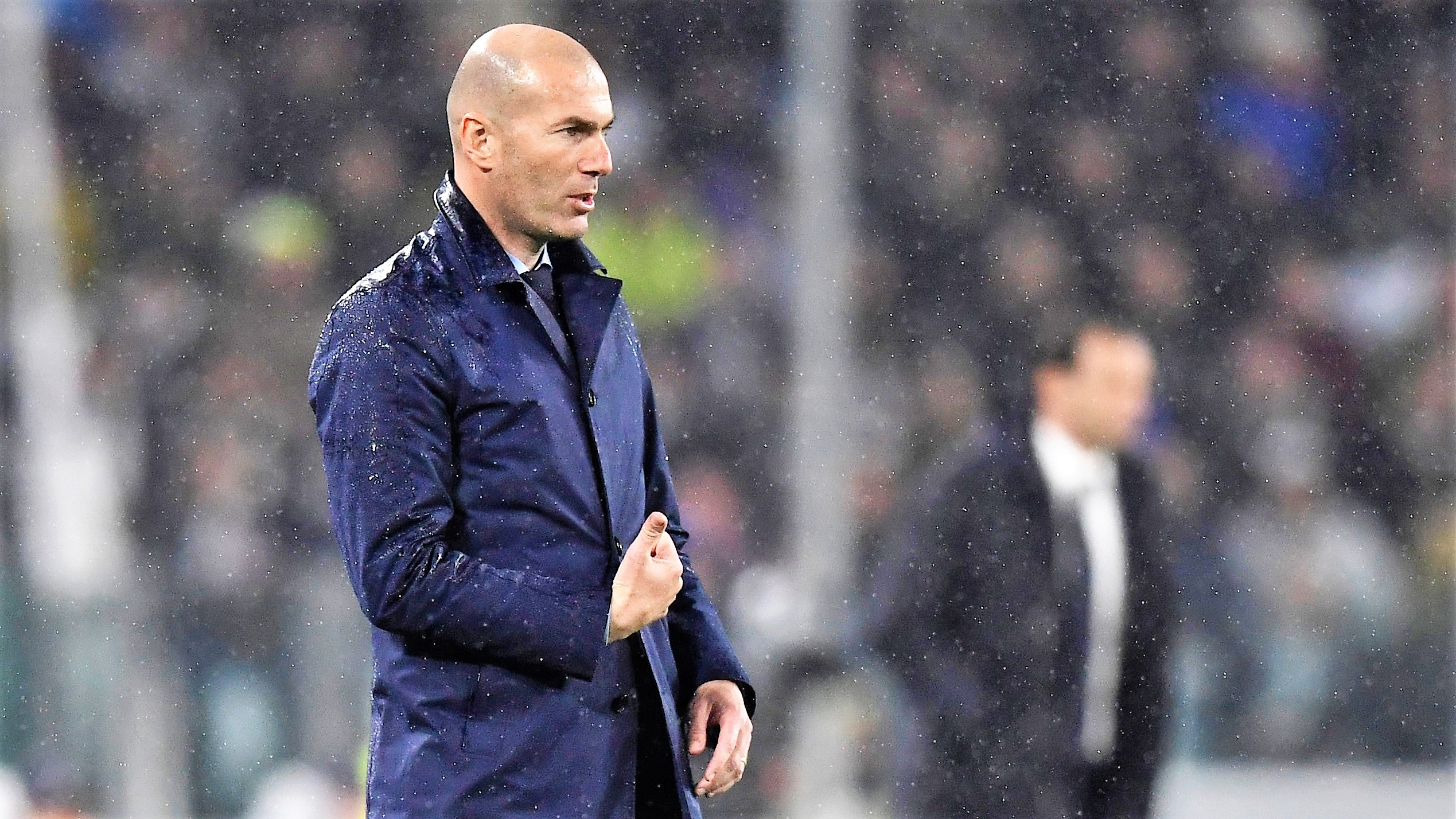 Zinedine Zidane Juventus Real Madrid UCL 03042018