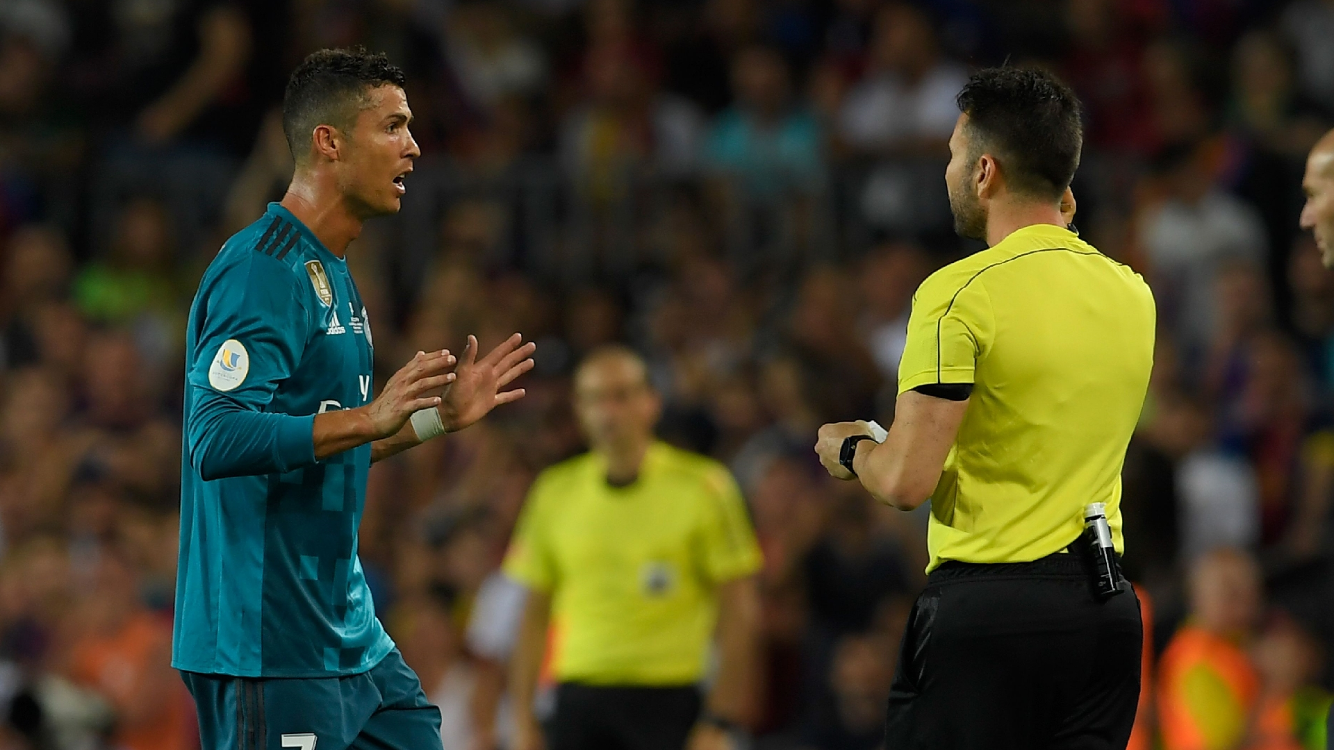 Cristiano Ronaldo, Real Madrid ref Supercopa