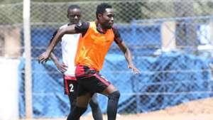 Posta Rangers midfielder Simon Mbugua also trained with the team at Machakos Stadium.