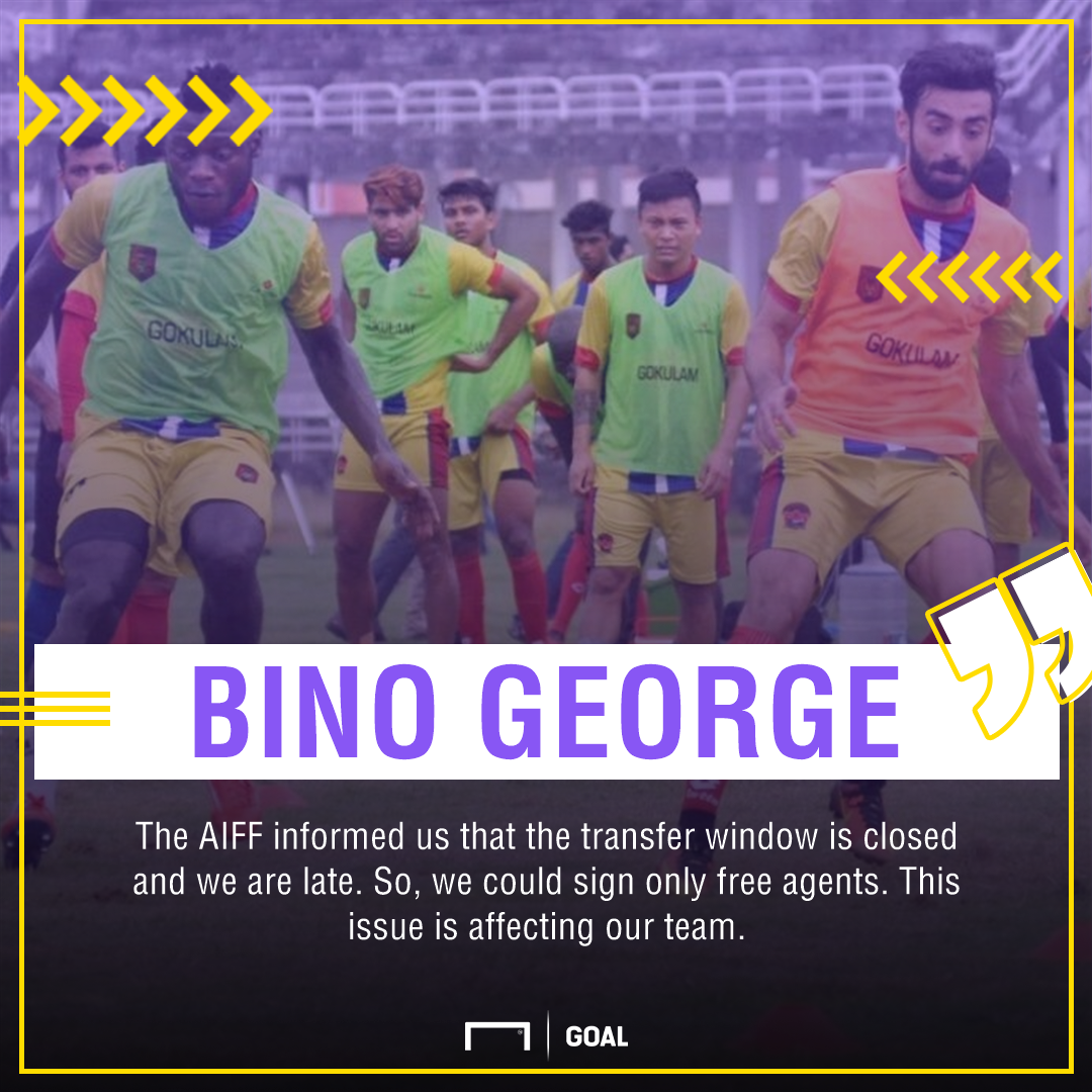 Bino George Gokulam Kerala FC