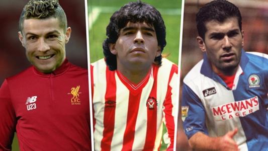 Ronaldo-Liverpool, Maradona-Sheffield United & Zidane