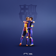 Iniesta Messi Barcelona