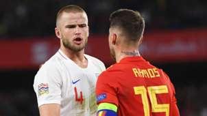 Eric Dier Sergio Ramos England Spain 151018