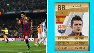 FIFA Cards - David Villa