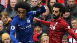 Willian Mohamed Salah Chelsea Liverpool 2018-19