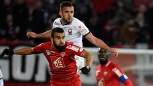 Naim Sliti Jonathan Gradit Dijon Caen Coupe de la Ligue 31102018
