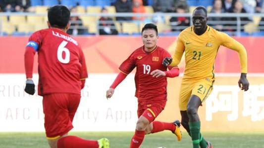 Quang Hải, U23 Việt Nam vs U23 Austrlia