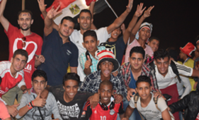egypt - congo - fans -by mahmoud maher