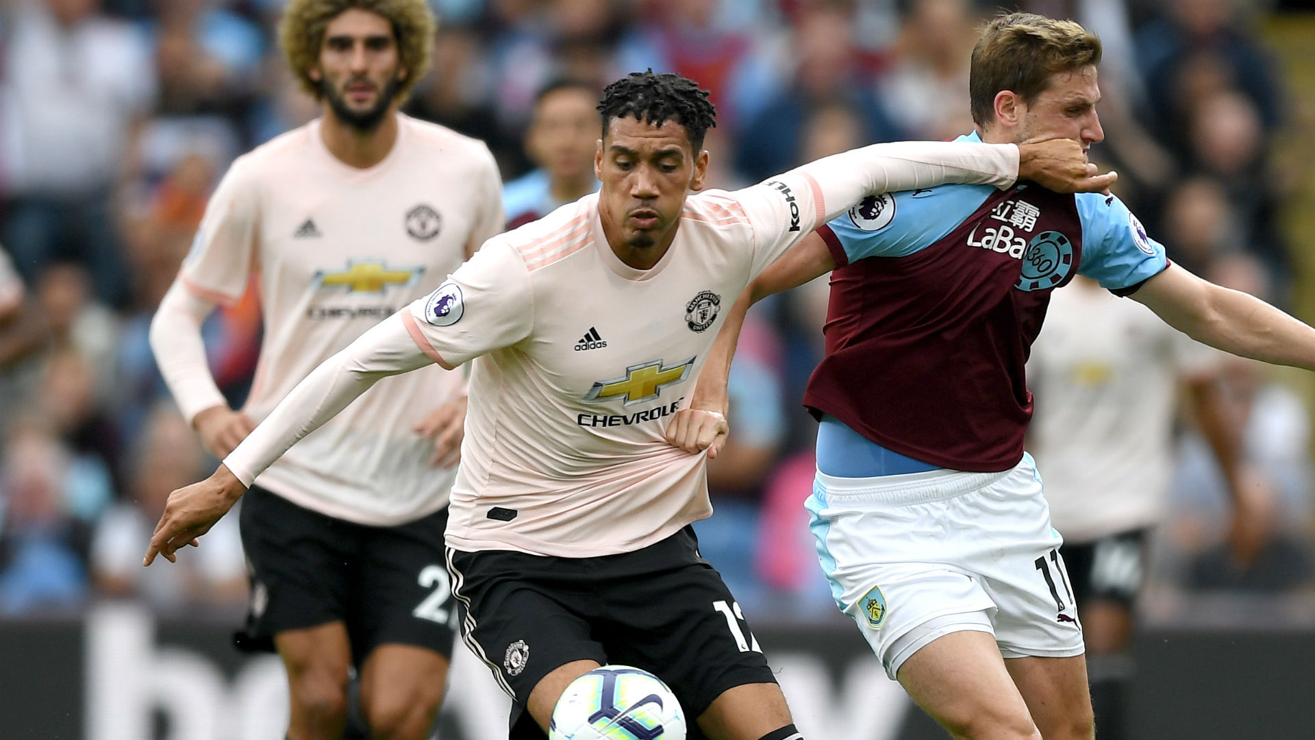 Chris Smalling Manchester United Burnley 2018-19