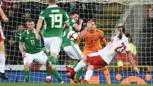 2017-11-10  Corry Evans Northern Ireland vs Switzerland