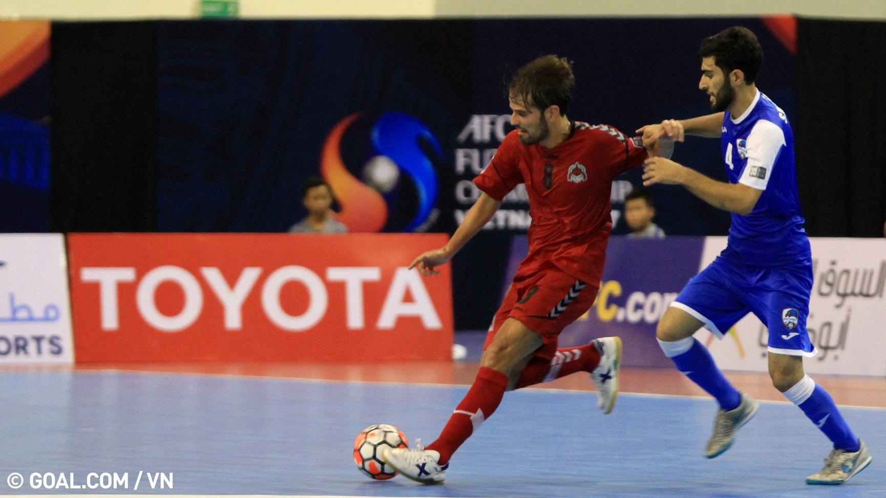2017 AFC Futsal Club Championship   Disi Invest (Tajikistan) 1-2 Al Rayyan (Qatar)