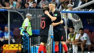 Luka Modric Ivan Perisic Croatia
