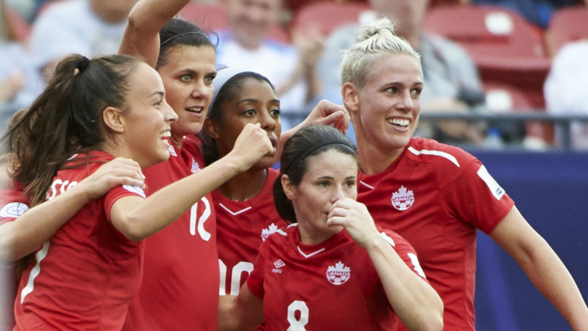 Canadian women lock up World Cup soccer berth in style