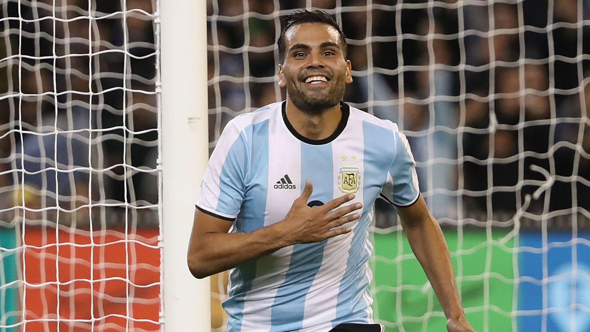 Gabriel Mercado Brasil Argentina Friendlies 09062017