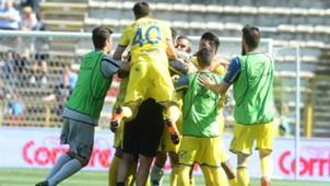 Chievo celebrating Bologna Chievo Serie A