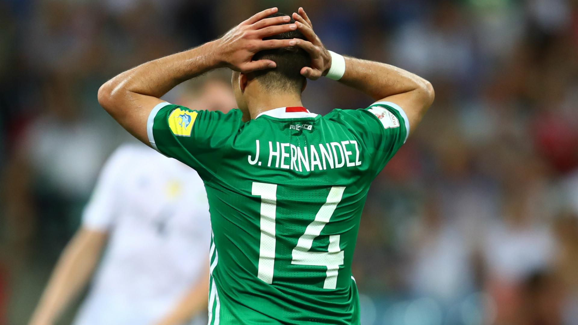 Javier Hernández Chicharito Alemania - México 29062017