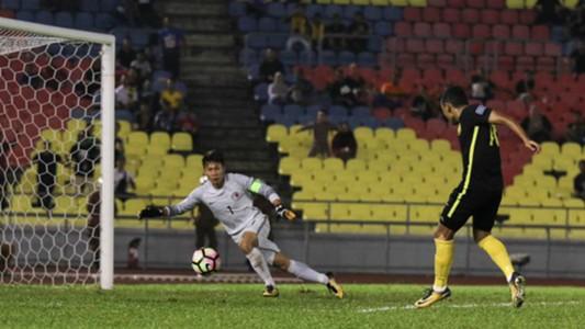 Syazwan Zainon, Malaysia, Hong Kong, 2019 Asian Cup qualifier