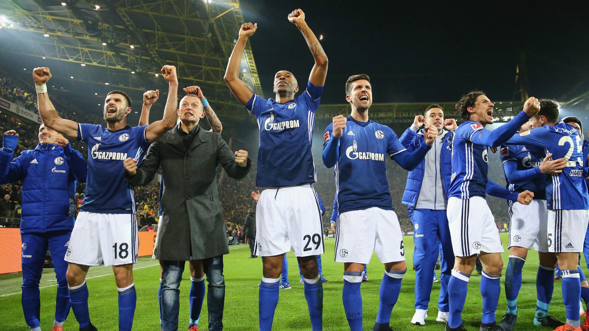 Schalke Jubel Naldo Matija Nastasic Benjamin Stambouli 25112017