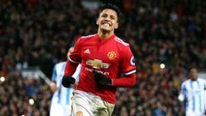 Alexis Sanchez Manchester United Huddersfield