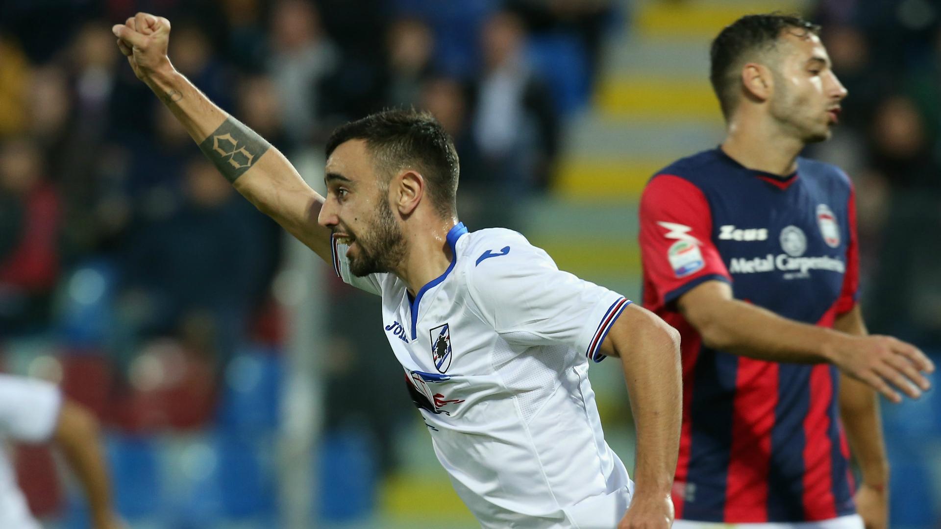 Bruno Fernandes Crotone Sampdoria