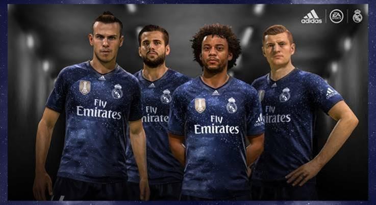 Real Madrid: Marcelo presenta una nueva camiseta de los 'galácticos'