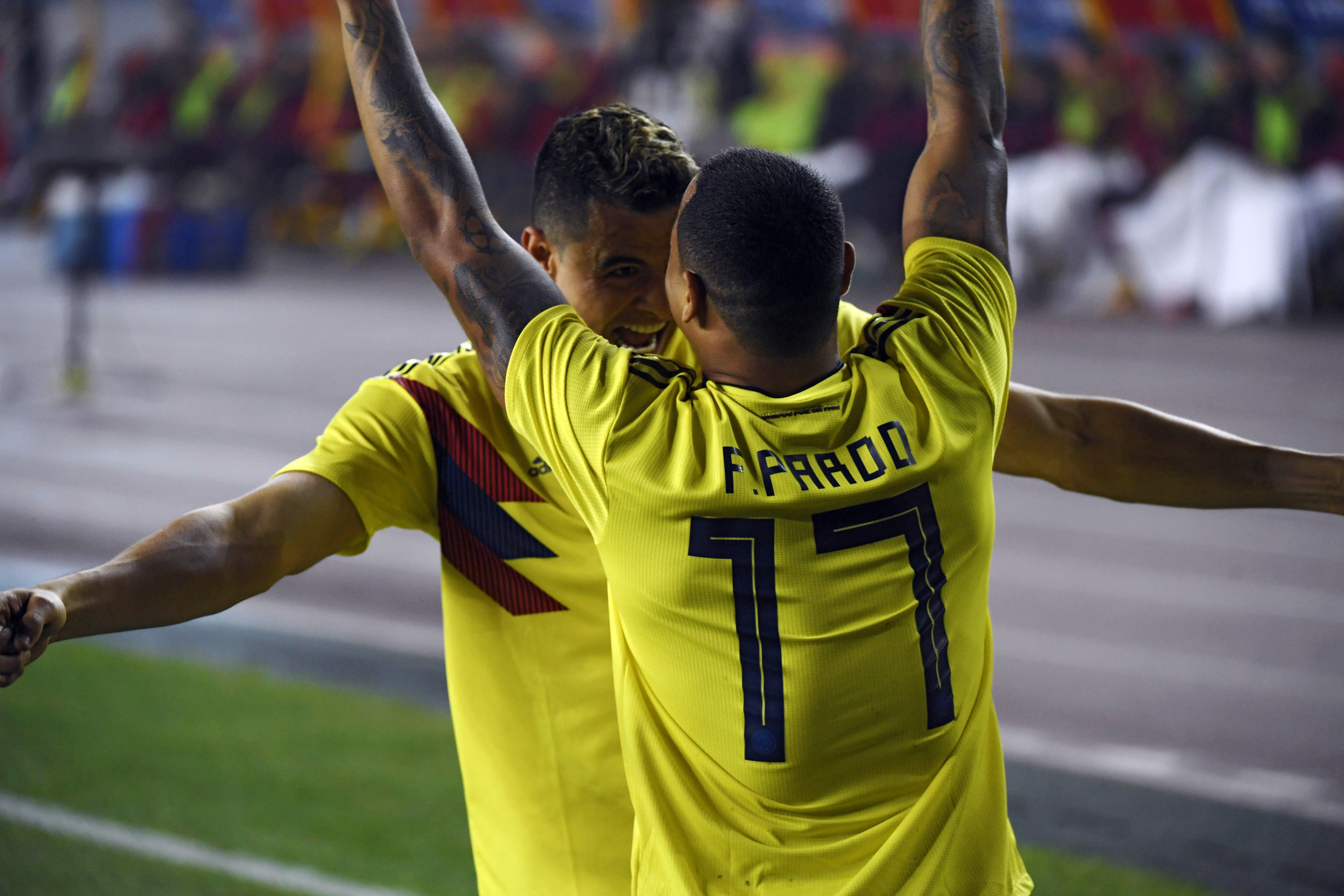 Colombia gol vs China