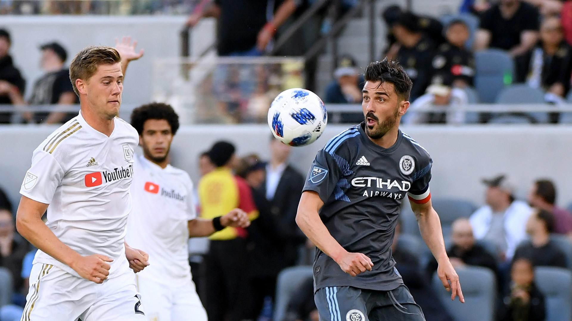 Los Angeles FC New York City FC David Villa MLS