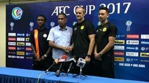 Zah Rahan, B. Sathianathan, Felda United, Risto Vidakovic, Kevin Ingresso, Ceres-Negros, 03/04/2017