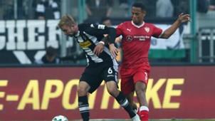 Christoph Kramer Dennis Aogo Borussia Monchengladbach VfB Stuttgart Bundesliga 19092017