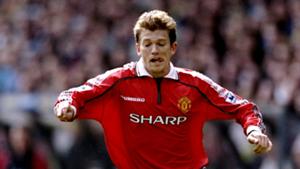 Jesper Blomqvist Manchester United Champions League 1999