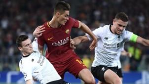 Patrik Schick Roma Liverpool Champions League