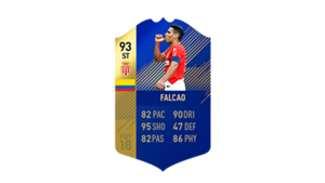 FIFA 18 Ligue 1 Team of the Season Falcao