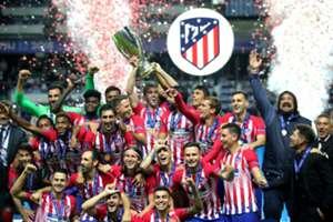 Atletico Madrid Supercopa Campeón 15/08/2018