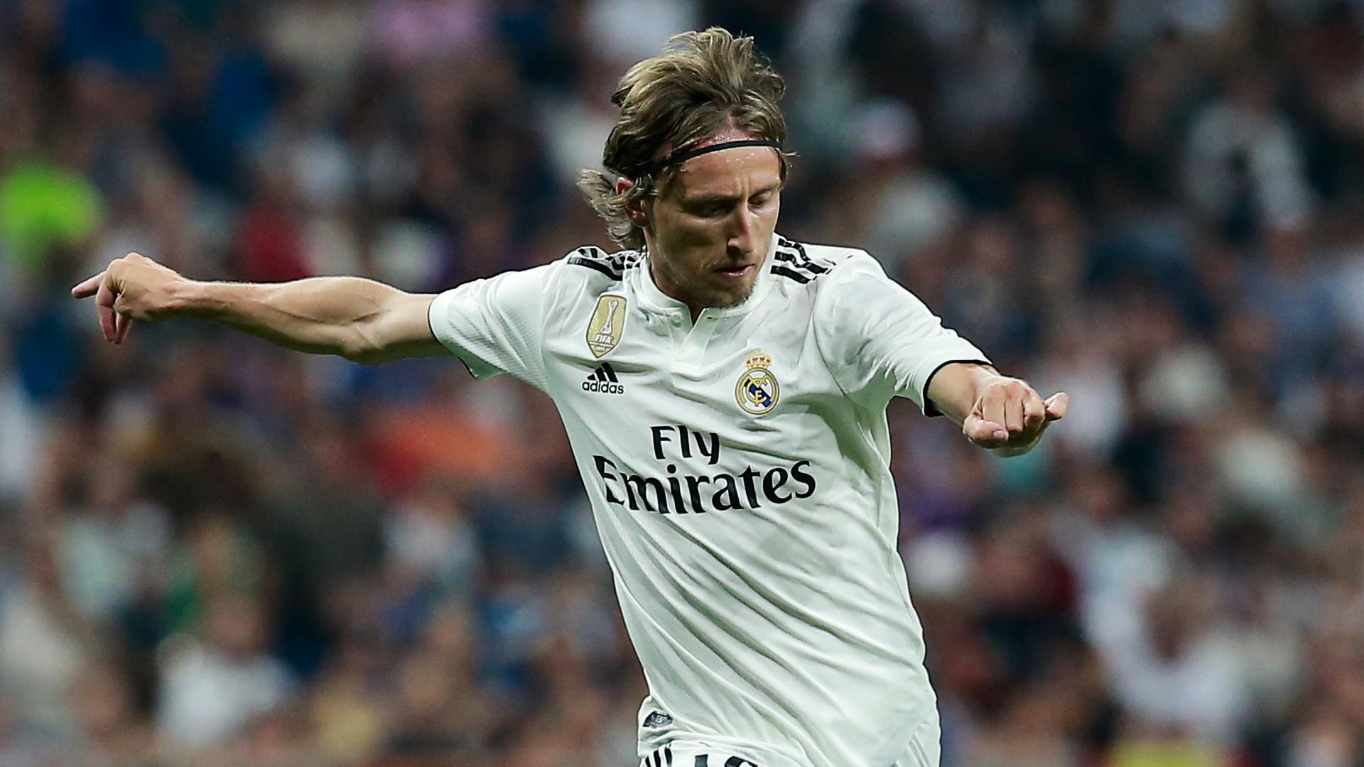 Luka Modric Real Madrid 2018-08-11