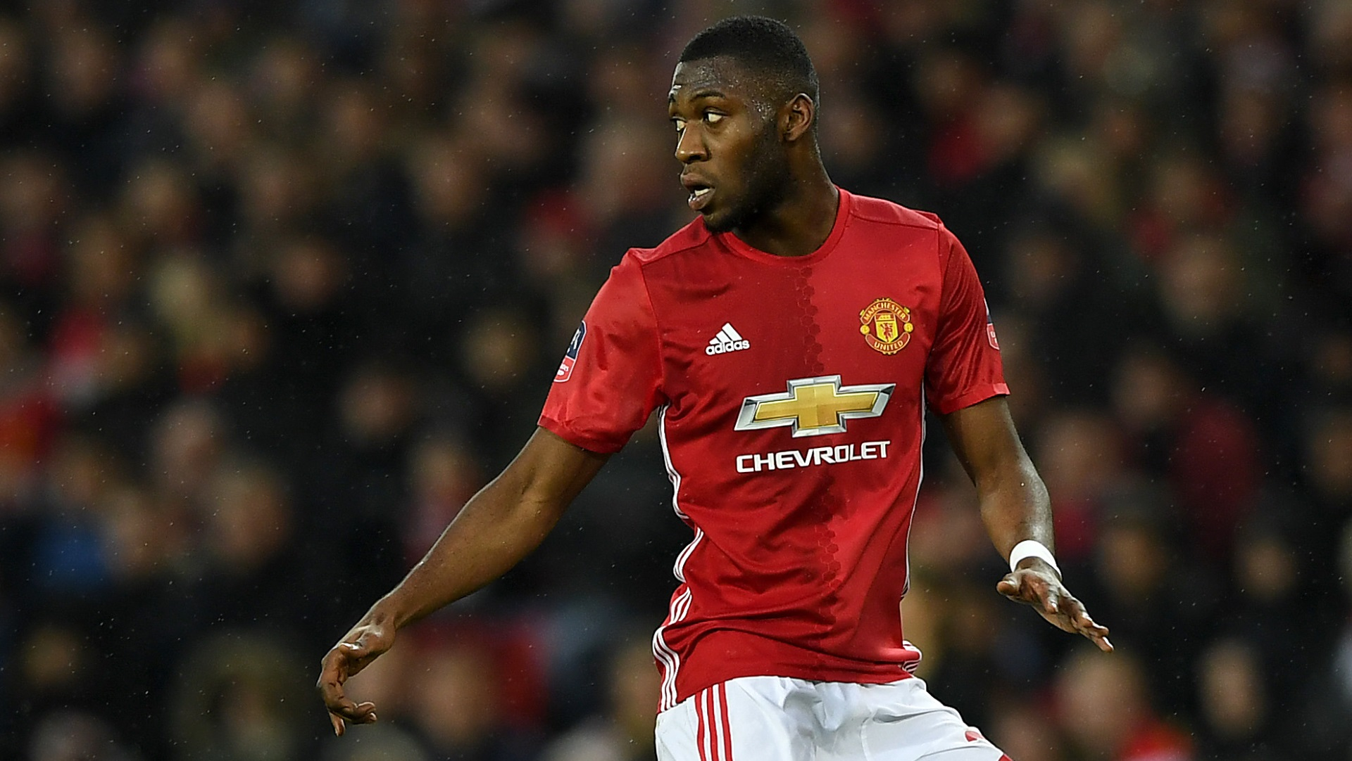 Timothy Fosu-Mensah of Manchester United