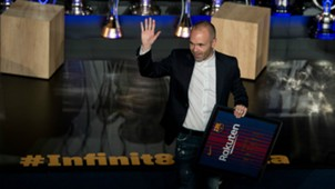 Andres Iniesta Farewell