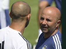 Mascherano Sampaoli Argentina World Cup