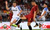 Edin Dzeko, Inter vs. Roma
