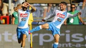 Lorenzo Insigne Dries Mertens Napoli Serie A
