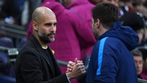 Pep Guardiola & Mauricio Pochettino