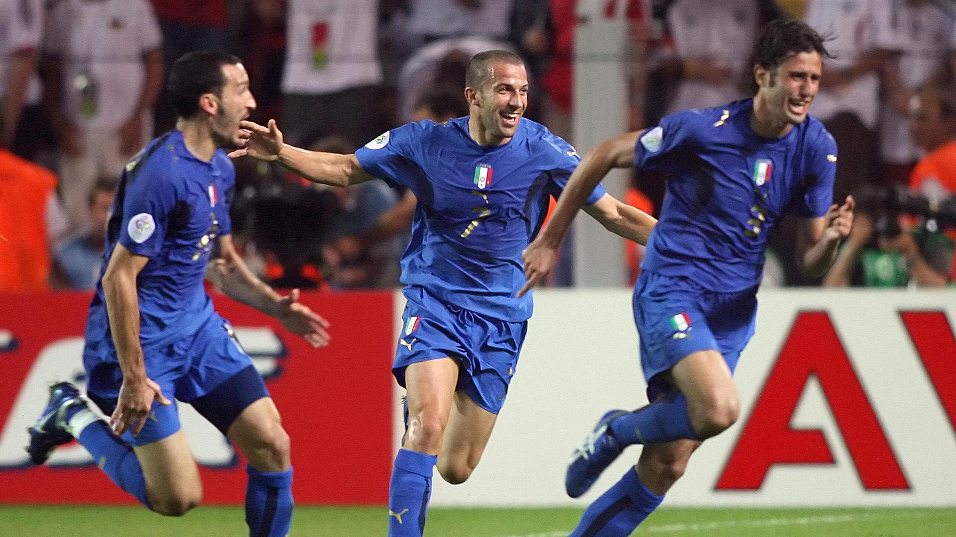 Fabio Grosso Italy Germany 2006 World Cup
