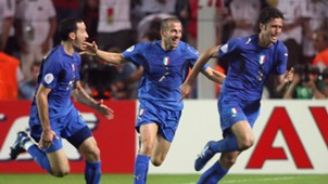 Fabio Grosso Italy Germany 2006 World Cup