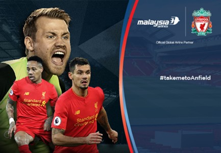 Liverpool - Stoke City Malaysia Airlines