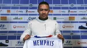 Memphis Depay Lyon 2017