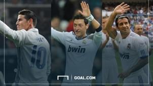 Number 10 shirt Real Madrid header gallery