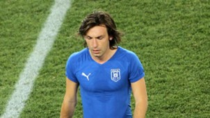 Andrea Pirlo Italy 2010 World Cup 24062010