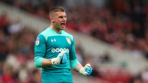 Sam Johnstone Aston Villa 12052018